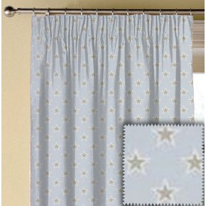 Clarke and Clarke Garden Party Shooting Stars Sky Made to Measure Curtains