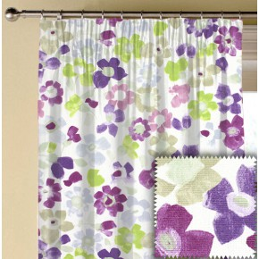 Prestigious Textiles Pickle Sweet Pea Lavender Made to Measure Curtains