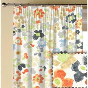 Prestigious Textiles Pickle Sweet Pea Paprika Made to Measure Curtains