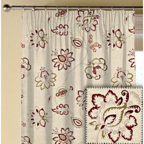 Prestigious Textiles Devonshire Tiverton Chianti Made to Measure Curtains