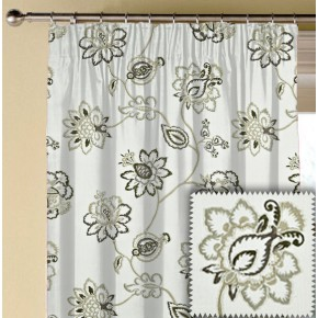Prestigious Textiles Devonshire Tiverton Parchment Made to Measure Curtains