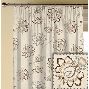 Prestigious Textiles Devonshire Tiverton Sable Made to Measure Curtains
