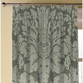 Clarke and Clarke  Colony Valentina Charcoal Made to Measure Curtains