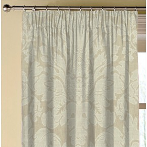 Clarke and Clarke  Colony Valentina Natural Made to Measure Curtains