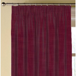 Clarke and Clarke Vienna Claret Made to Measure Curtains