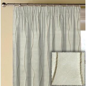 Prestigious Textiles Perception Wave Pearl Made to Measure Curtains