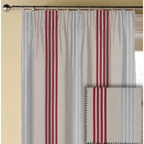 Clarke and Clarke Richmond Wensley RaspberryDuckegg Made to Measure Curtains
