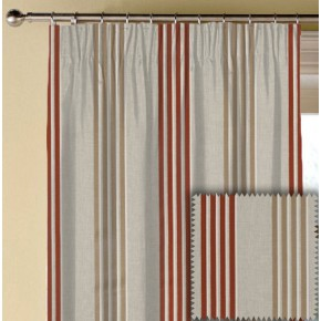 Clarke and Clarke Richmond Wensley Spice Made to Measure Curtains