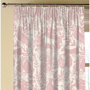 Clarke and Clarke Blighty Westonbirt Rose Made to Measure Curtains