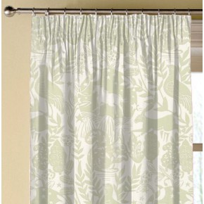 Clarke and Clarke Blighty Westonbirt Sage Made to Measure Curtains