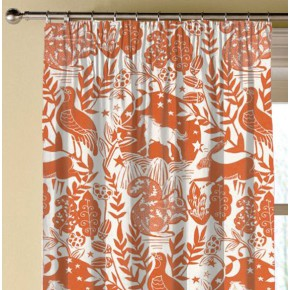 Clarke and Clarke Blighty Westonbirt Spice Made to Measure Curtains
