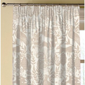 Clarke and Clarke Blighty Westonbirt Taupe Made to Measure Curtains
