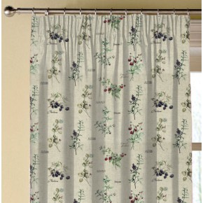 Clarke and Clarke Countryside WildBerries Linen Made to Measure Curtains