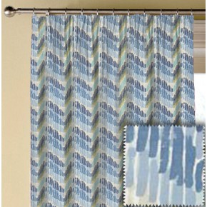 Clarke and Clarke Cariba Windjammer Mineral Made to Measure Curtains