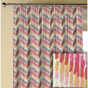 Clarke and Clarke Cariba Windjammer Summer Made to Measure Curtains