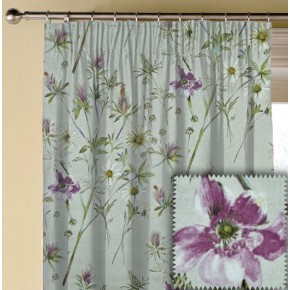 Prestigious Textiles Ambleside Wordsworth Hollyhock Made to Measure Curtains
