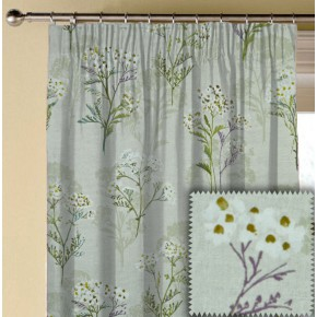 Prestigious Textiles Ambleside Yarrow Hollyhock Made to Measure Curtains