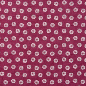 Clarke and Clarke Cariba Daiquiri Raspberry Curtain Fabric