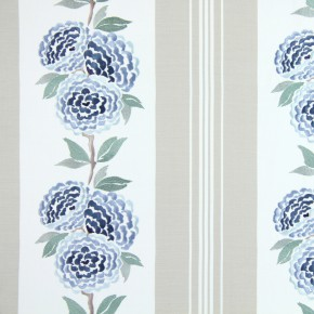 Pemberley Darcy Cornflower Blue Made to Measure Curtains