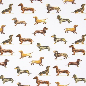 Country Fair Daxi Tan Curtain Fabric