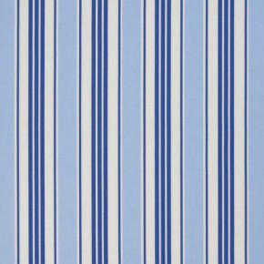 Clarke and Clarke Vintage Classics Deckchair Stripe Blue Cushion Covers