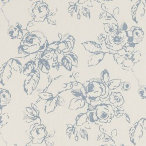 Clarke and Clarke Clarisse Delphine Wedgewood Curtain Fabric