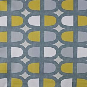 Prestigious Textiles SouthBank Docklands Saffron Curtain Fabric