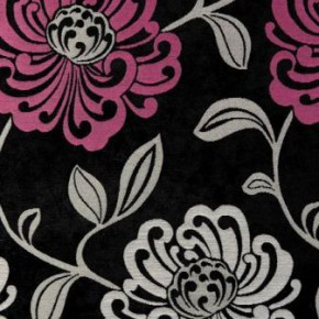 Clarke and Clarke Firenze Donatello Fuchsia Curtain Fabric