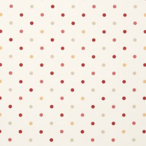 Clarke and Clarke Sketchbook Dotty Brick Curtain Fabric