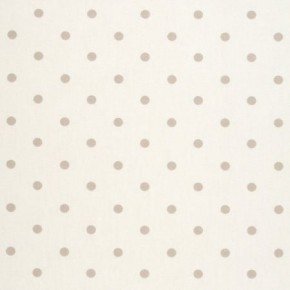 Clarke and Clarke Vintage Classics Dotty Natural Made to Measure Curtains