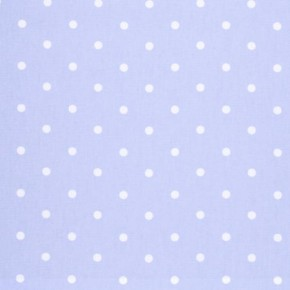 Clarke and Clarke Vintage Classics Dotty Powder Blue Made to Measure Curtains