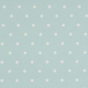 Clarke and Clarke Vintage Classics Dotty Seafoam Curtain Fabric