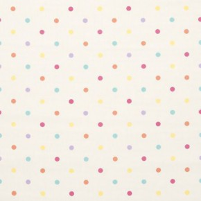 Clarke and Clarke Sketchbook Dotty Sunshine Curtain Fabric