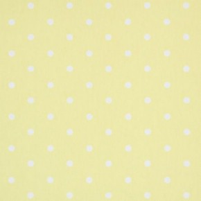 Clarke and Clarke Vintage Classics Dotty Yellow Curtain Fabric