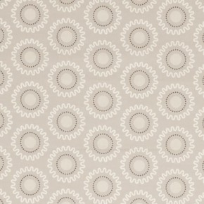Clarke and Clarke Astrid Ebba Natural Curtain Fabric