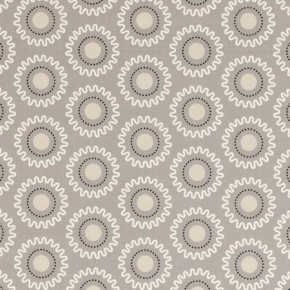 Clarke and Clarke Astrid Ebba Taupe Curtain Fabric