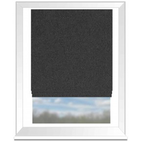Highlander_Ebony_Roman_Blind