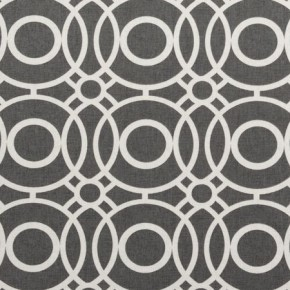 Clarke and Clarke Folia Eclipse Charcoal Curtain Fabric