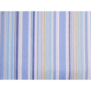 Linden Edgerton Vintage Blue Curtain Fabric