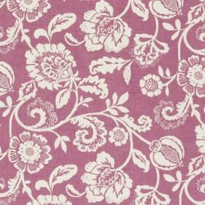 Clarke and Clarke Genevieve Eliza Mulberry Curtain Fabric