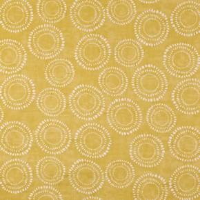 Prestigious Textiles SouthBank Embankment Saffron Curtain Fabric