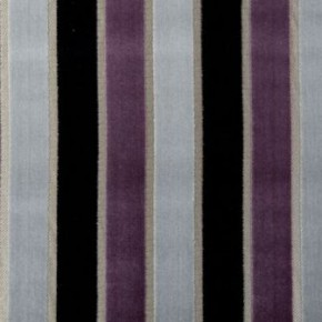Clarke and Clarke Academy Velvets Emilio Amethyst Made to Measure Curtains
