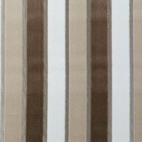 Clarke and Clarke Academy Velvets Emilio Natural Curtain Fabric