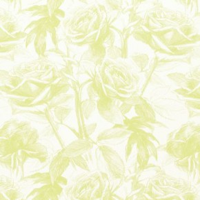 Clarke and Clarke Floribunda Empress Rose Citrus Made to Measure Curtains