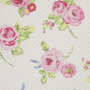Clarke and Clarke Vintage Classics English Rose Chintz Roman Blind
