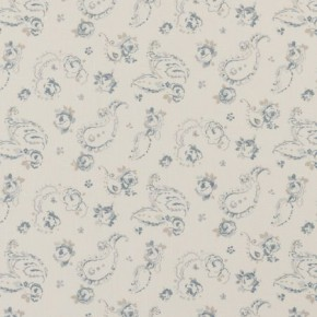 Clarke and Clarke Clarisse Evelina Wedgewood Curtain Fabric