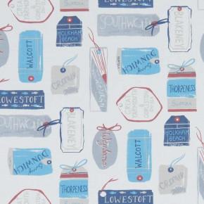 A Land & Sea Explorer Marine Curtain Fabric