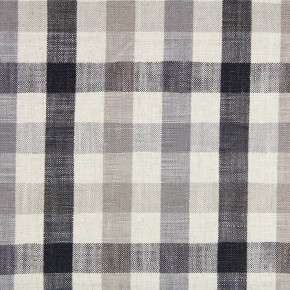Prestigious Textiles Ayrshire Fallon Charcoal Curtain Fabric