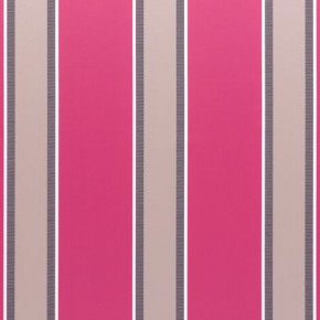 Clarke and Clarke Floribunda Ferdinand Magenta Curtain Fabric