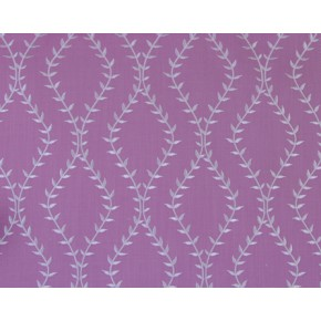 Fiorella Fern Amethyst Curtain Fabric
